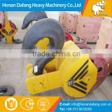 Top Quality 3~30T C Type Crane Lifting Hook Blocks for Lifting Coils,DG20Mn Crane Lifting Hook Blocks for Sale