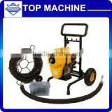 S-200B Sectional sewage pipe cleaning machine for Clogged Drain Pipe Cleaning/drain cleaner machine