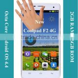 Newest!! Coopal F2 8675-HD 5.5 Inch IPS Screen Android 4.4 2/16GB Coolpad Android 4G mobile phone