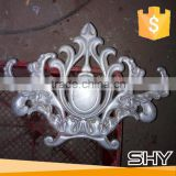 decorative cast aluminum flower for gates or fence