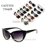 Europe and America Style UV Protected Cat Sunglasses