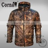 Customized logo OEM outdoor lightweight breathable camo men military winter jacket