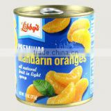 canned mandarins