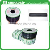 manufacturer china drip agriculture irrigation drip irrigation inner flat emitter drip tape diameter16