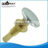 PROWAY new design brass air jet used for bathtub Chrome-plated brass High pressure air jet