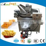 French fries frying machine,automatic frying potato chips machine,potato frying machine