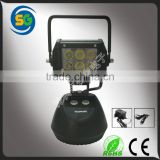 Rechargeable LED Work Light 18W Dimmer Portable LED Light magnetic