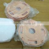 oem cnc machining copper plated steel motorcycle disc brake kit made in dongguan