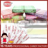 Multi Flavors 5 Sticks Europe Chewing Gum