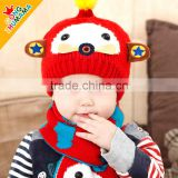 Hot Cute Baby Kids Infant Winter Christmas Warm Knit Hat cartoon Beanie Caps