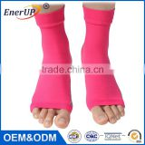 High quality Foot Compression Sleeves Toeless Socks for Heel Arch & Ankle Braces Support Relieves Pain of Plantar Fasciitis