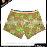 Wholesale high quality and cheap price kids boys underwear with angrey bird logo