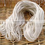 2/2.5 / 3/4 / 5mm Cotton Rope Sash Cord Twine Washing Clothes Natural White Thong String Twine Jewellery Making Thread 100 Meter