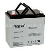 Neata high quality rechargeable battery/Dry Lead acid car battery 12v50ah for Electric-Bike and solar system battery