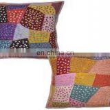 Patchwork Cushion Cover indian Cut Work Cushion Covers