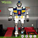Exhibition of Mechanical Robot Transform