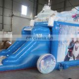 Best design combo PVC 0.55mm material inflatable Frozen combo for sale HT001