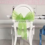 2015 Best Products For Import From China Decoration Bows For Sale Polyester Organza Chair Bow