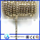Fashion semicircle clothing electroplating electroplating gold cords of beads chain bead bead chain link