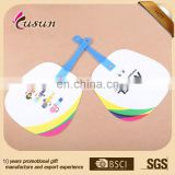 Excellent cheap plastic hand fan for summer promotion gift