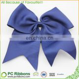 Plain navy bule 8'' super big cheer bow