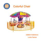 Zhongshan amusement swing rides chair flying Colorful Chair kiddie rides