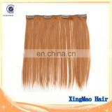 Virgin human hair weft ,clip on hair extension ,Unprocessed raw Virgin hair