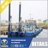 mini gold dredge 12 Inch Cutter Suction Dredger small ships for sale