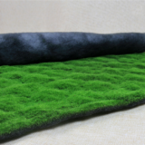 silk cotton nylon material artificial turf for decoration