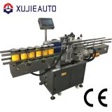 automatic food cans adhesive sticker round labeling machine