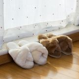 100% Sheep Wool Slippers Fashion Indoor Women Slippers Lambskin Shoes
