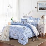 ievey cotton beautiful designs and soft cotton quilt cover and bed sheet aplic work cotton sateen