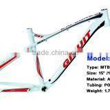 Competitive price good quality aluminum bicycle frame and aluminum alloy bicycle frame
