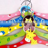 Wholesale Colorful Wooden Baby Hanger