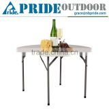 Plastic Folding Wholesale Plastic Round Portable Outdoor Camping Picnic Banquet Table                                                                         Quality Choice