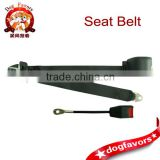 3 Points Car Seat Belt with High Strength Polyester Webbing