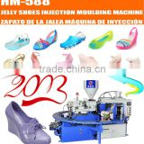 rotary PVC crystal sandals making machine