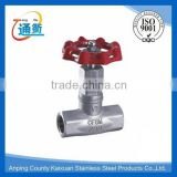 casting sus 304 stainless steel globe valve pn16                                                                                                         Supplier's Choice