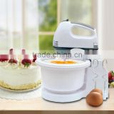 JL-EM504 7 Speed Plastic Electric Stand Egg Mixer Machine with Bowl                                                                         Quality Choice