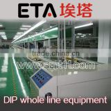 conveyor belt production line,DIP whole line equipment,electronic assembly line equipment