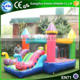 Used commercial bounce houses for sale inflatables slide bouncy caterpillar bounce house for kids