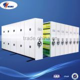 Easy Operation Libraries Information Room Mechanical Mobile Metal Compact Shelving System