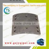High quality useful EQ1094 Rear brake lining manufacturers gauge