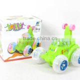 Funny electronic dancing toy car for wholesale, battery operated car for children, AH017941