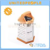 Wood Grain Handle 6 Sided Shaped Multi-purpose Cassava Grater