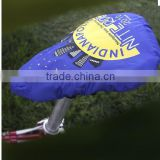 polyester nylon custom bicycle seat cover