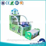 kids coin operated shooting ball amusement vending game machine