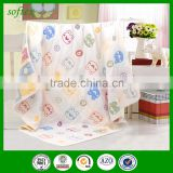Gauze cotton for kindergarten children blanket mushroom muslin cloth                                                                         Quality Choice