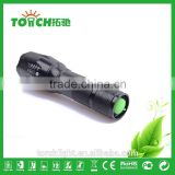 promotion E17 XM-L T6 2000Lumens led Torch Zoomable waterproof LED Flashlight Torch light For 3xAAA