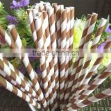 Colorful Striped Chevron Polka Dot Heart Solid Drinking Paper Straws For Party Favor Decoration Artstraws                                                                         Quality Choice